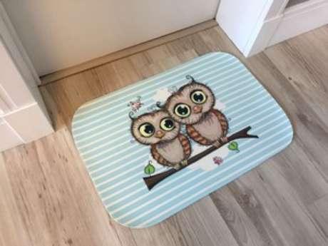 4. tapete de coruja para usar em casa – Por: Pinterest