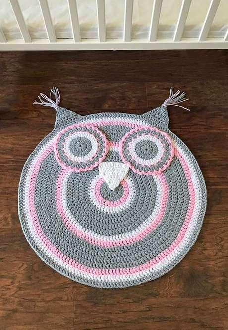 39. Escolha o formato do seu tapete de coruja de acordo com sua casa! – Por: Decor facil