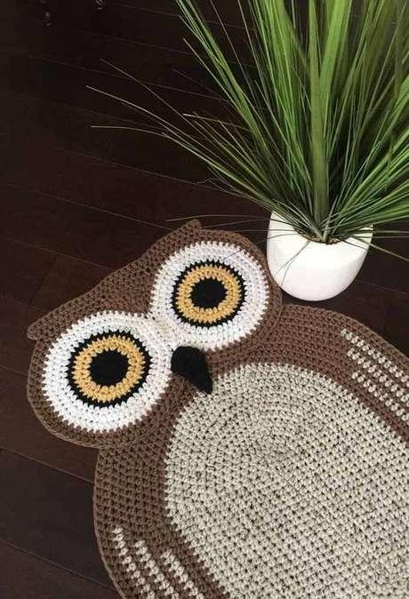 40. Use o tapete de coruja para sua decoração ser ainda mais bonita! – Por: Pinterest