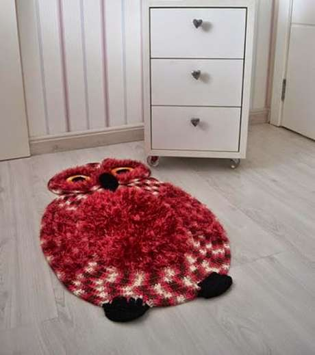 35. O tapete de coruja pode ser feito por você mesmo! – Por: Artesanato Brasil
