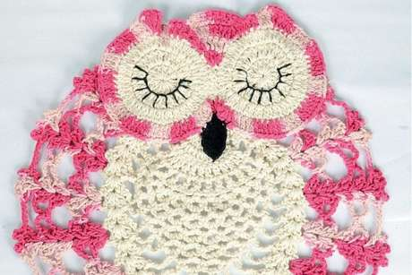 26. Um lindo tapete de coruja para você se inspirar – Por: Alto Astral