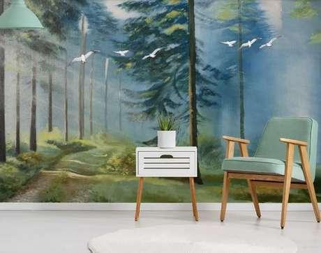 15. Alguns móveis ficam muito melhor se passam por uma aplicação de tinta para madeira. Projeto por: Revista Viva Decora