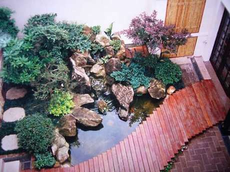 77. Transforme sua varanda em um mini Jardim Japonês. Fonte: Garden Center