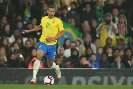 Richarlison não disputará a semifinal da Copa América (Foto: Lucas Figueiredo/CBF)