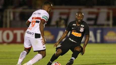 Pelo Paulistão, o Corinthians bateu o Botafogo, por 1 a 0, em Ribeirão Preto (CELIO MESSIAS/ UAI Foto)