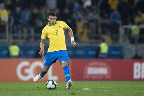 Thiago Silva tem feito grandes partidas nesta Copa América - FOTO: Lucas Figueiredo/CBF