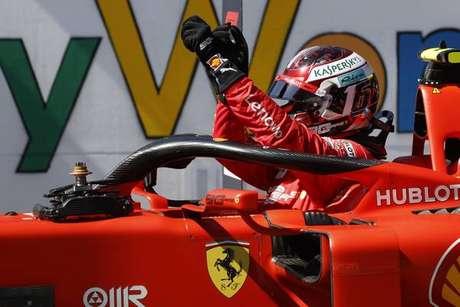Leclerc garante pole position do GP da Áustria