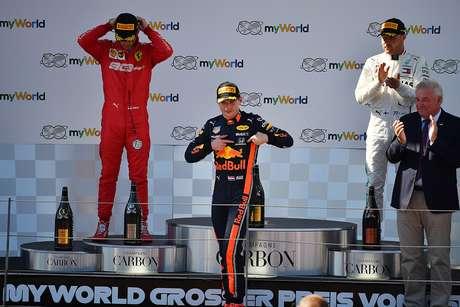 """""""Se essas coisas não são permitidas, qual é o objetivo de estar na Fórmula 1?"""", disse Verstappen"""