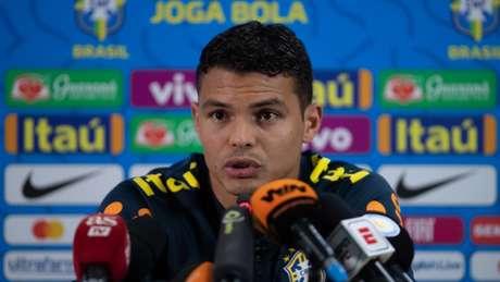 Thiago Silva não aprovou a organização da Copa América - FOTO: Pedro Martins / MoWA Press