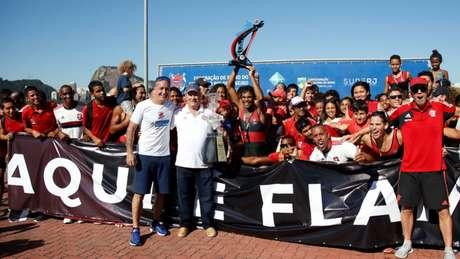 Flamengo está a um passo de confirmar o título do Estadual de remo (Foto: Divulgação)
