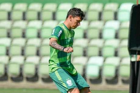 Júnior Viçosa pode deixar o Coelho em breve, mesmo sendo artilheiro da equipe em 2019- (Mourão Panda/América-MG)
