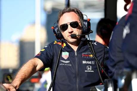 """Christian Horner: """"Leclerc deveria ter deixado Verstappen passar naquela manobra"""""""