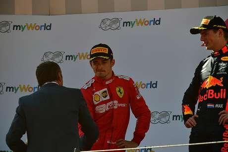 Verstappen acha que Leclerc vai vencer uma corrida em 2019