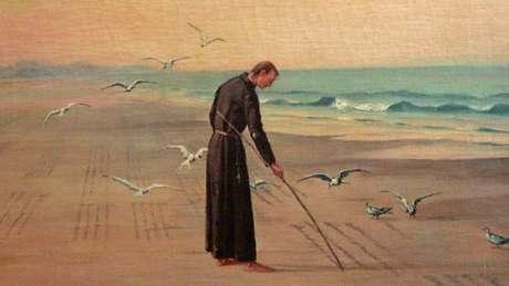 Padre José de Anchieta, um dos jesuítas fundadores da cidade de São Paulo, foi canonizado pelo papa Francisco