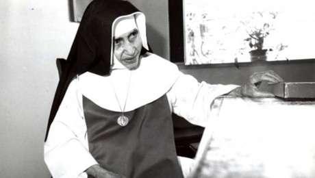 Irmã Dulce nasceu em 1914 na cidade de Salvador (BA)