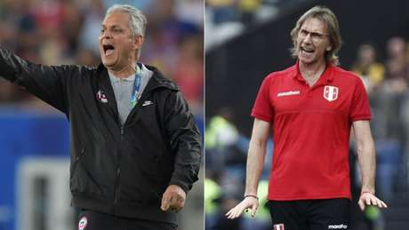 Rueda e Gareca se enfrentam na quarta-feira (AFP)
