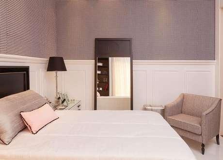 5. Invista em uma aconchegante iluminação para a decoração do quarto – Foto Quartos Etc