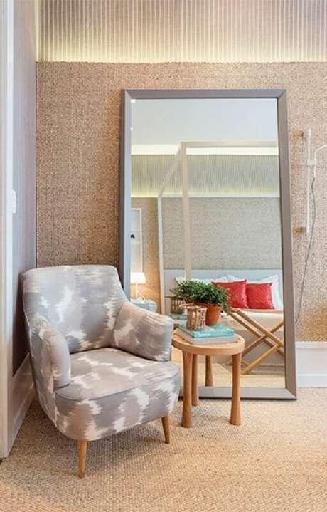 6. Invista em espelhos para a decoração do quarto – Foto: Quartos Etc