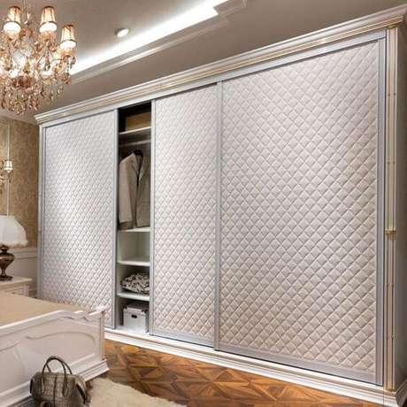 21. Modelos de guarda roupa para quartos clássico – Por: Bedroom Ideias