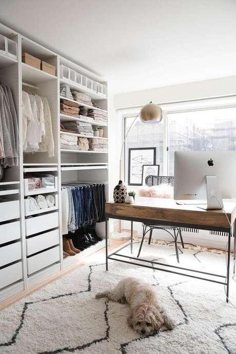 41. Modelos de guarda roupa para closet – Por: Pinterest