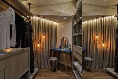 27. Modelos de guarda roupa para quarto pequeno – Por: Morar mais por menos