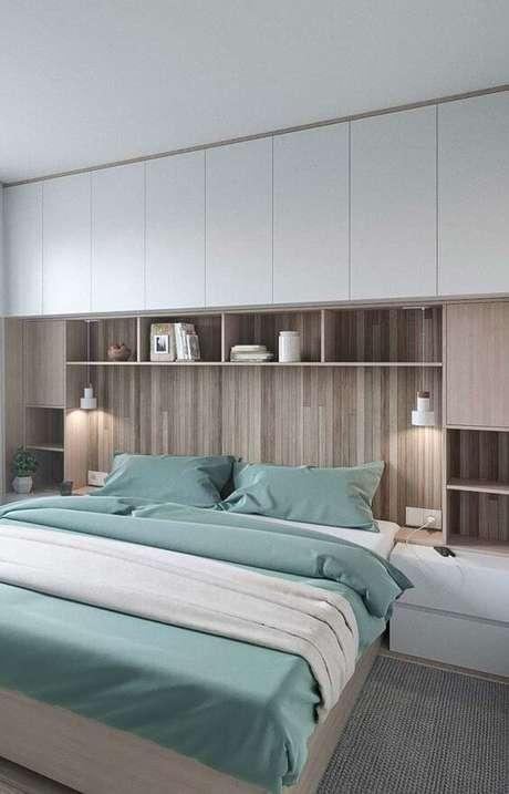 52. Modelos de guarda roupa para casal em quarto moderno – Por: Ideais decor