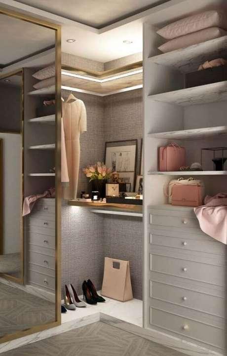 51. Modelos de guarda roupa planejados para espaços pequenos – Por: ideias decor