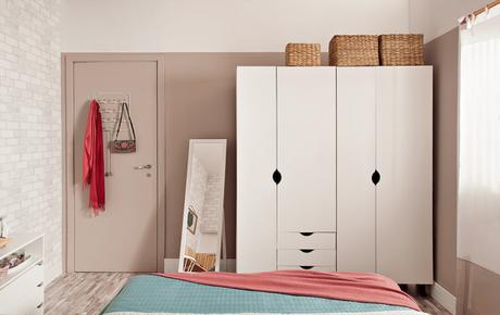 5. Modelos de guarda roupa modulados na cor branca – Por: Minha Casa Abril