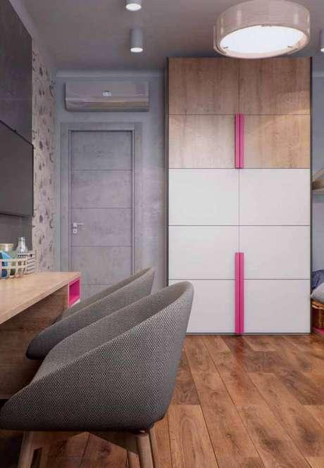 62. Modelos de guarda roupa para quartos personalizados e modernos