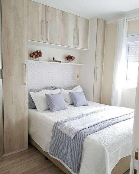 71. Modelos de guarda roupa neutro para quarto de casal