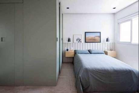 73. Modelos de guarda roupa para quarto de solteiro – Por: Decorando ideias