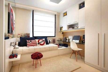 81. Modelos de guarda roupa para quarto planejado e decorado – Por: Pinterest