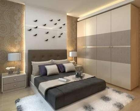 84. Modelos de guarda roupa para quartos modernos e bem decorados