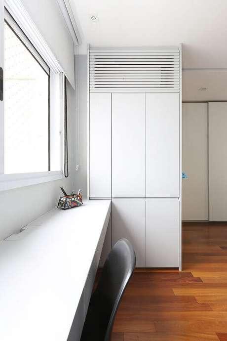 85. Modelos de guarda roupa planejados para quartos pequenos – Por: ACF Arquitetura