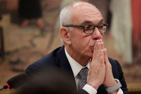 Fabio Schvartsman, ex-CEO da Vale, durante sessão da Câmara dos Deputados sobre o desastre de Brumadinho  14/02/2019 REUTERS/Ueslei Marcelino