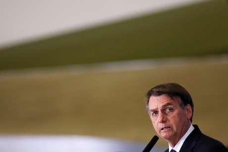 Presidente Jair Bolsonaro durante cerimônia no Palácio do Planalto 24/06/2019 REUTERS/Adriano Machado