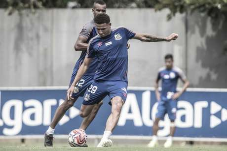 Felippe Cardoso não correspondeu às expectativas no Santos (Ivan Storti/Santos)