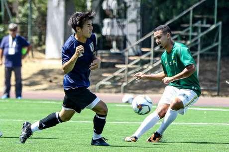 Seleção Brasileira masculina perdeu do Japão por 3 a 0 em jogo-treino (Crédito: Thiago Parmalat/CBDU/Divulgação)