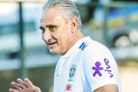 O técnico Tite, da Seleção brasileira