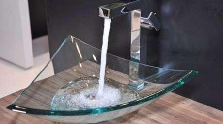 38. Cuba de vidro em formato triangular – Por: Pinterest