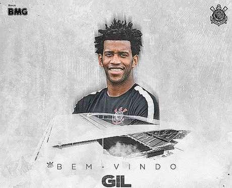 Gil é confirmado como novo reforço do Corinthians
