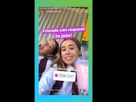 Nova figurinha do Instagram permite chat em grupo entre os usurários