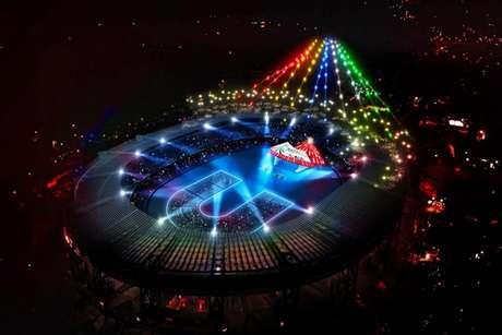 Abertura da Universíade, hoje, no estádio San Paolo, em Nápoles, terá estilo olímpico (Reprodução)