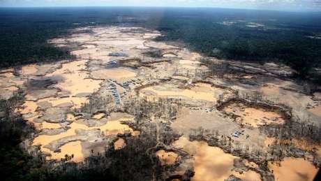 Desmatamento da Amazônia no Peru