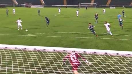 Guarani derrotou Palmeiras por 2 a 1 em amistoso nesta quarta-feira, em Campinas (Reprodução/Esporte Interativo)