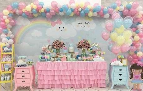 33. Temas de festa infantil fofas de Chuva de amor! – Por: Brunatilli Festas