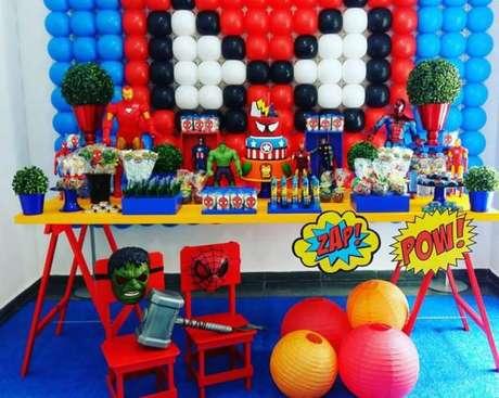 39. Temas de festa infantil vingadores – Por: Pinterest