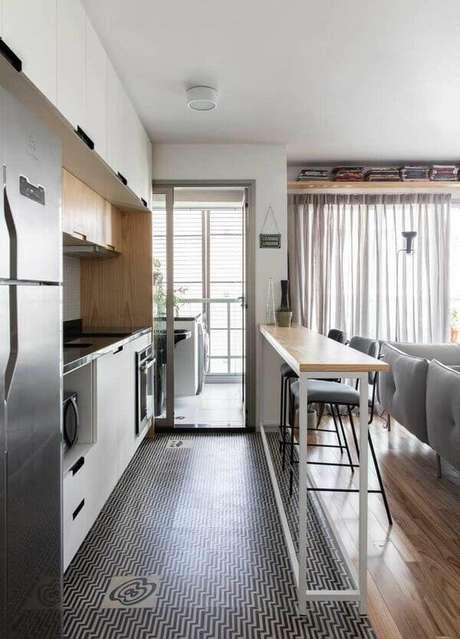 7. Eletrodomésticos para cozinha são itens mais do que necessários. Projeto por: INÁ Arquitetura