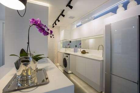 10. Alguns eletrodomésticos para cozinha podem ser encontrados em muitas cores. Projeto por: Máira Ritter