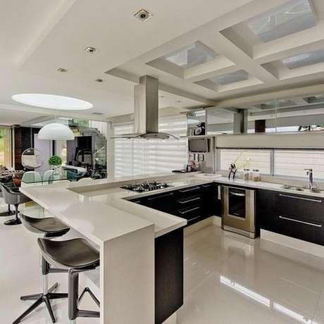 1. Eletrodomésticos para cozinha são itens muito importantes para uma casa. Foto: Viva Decora